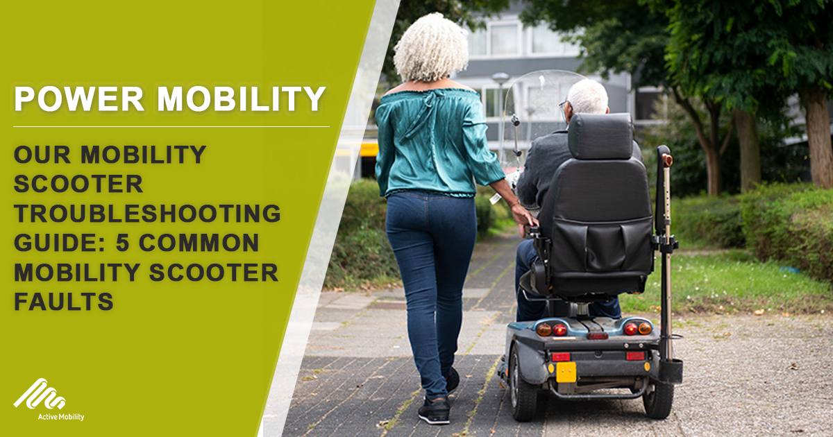 5 common mobility scooter faults