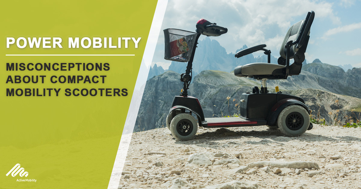 Misconceptions About Compact Mobility Scooters