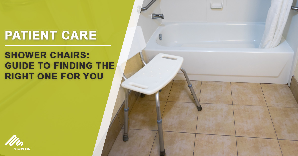 Shower Chairs: Guide To Finding The Right One For You