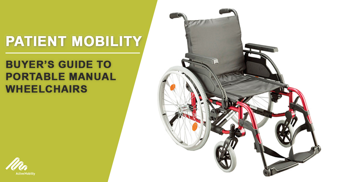 Buyers Guide to Portable Manual Wheelchairs