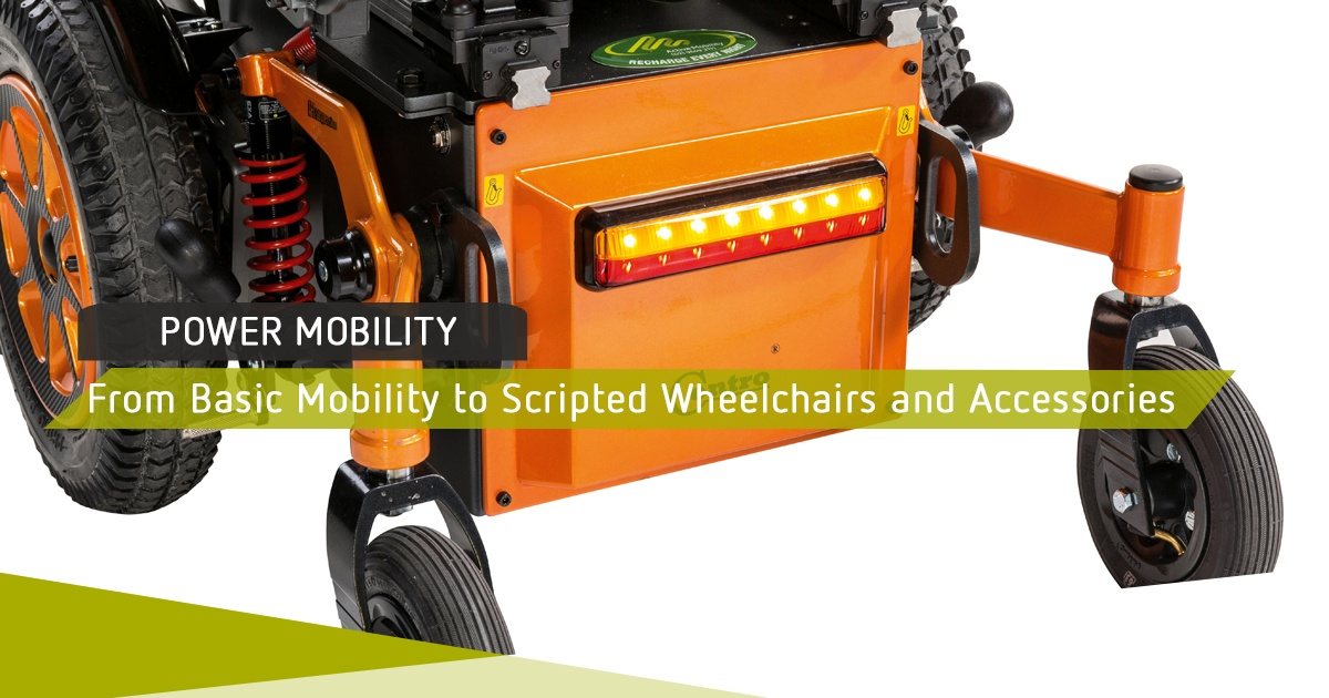 From Basic Mobility to Scripted Wheelchairs and Accessories