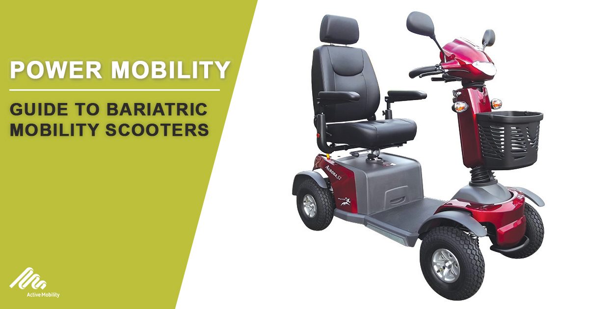 Guide To Bariatric Mobility Scooters