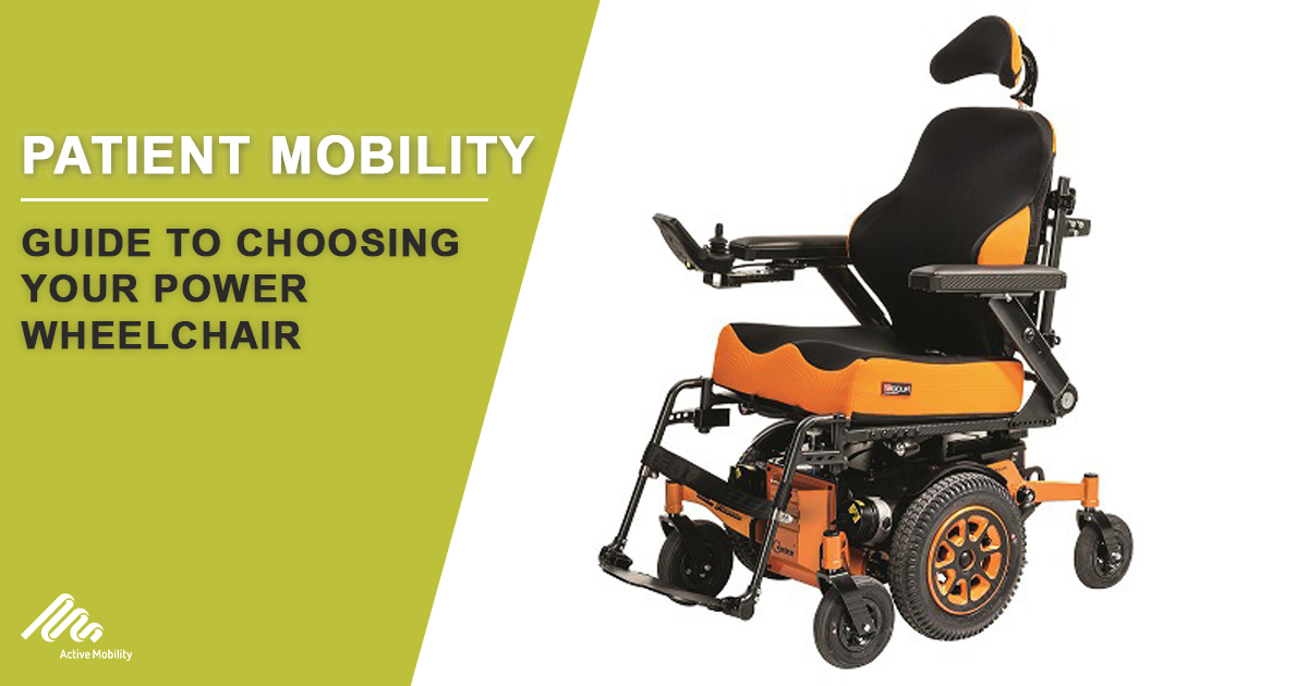 Guide To Choosing Your Power Wheelchair