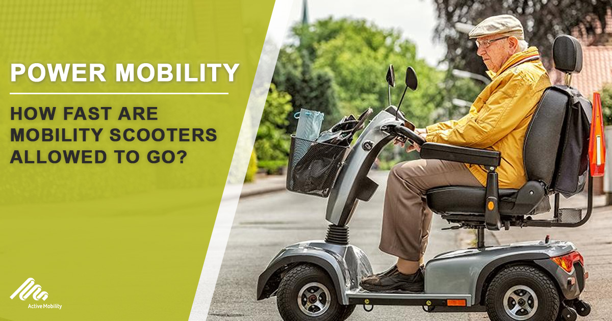 How Fast Are Mobility Scooters Allowed To Go?