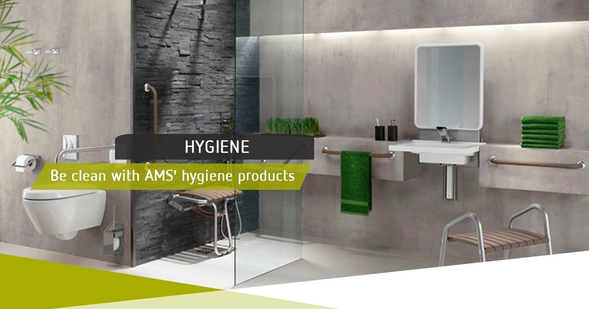 Be Clean With AMS' Hygiene Products