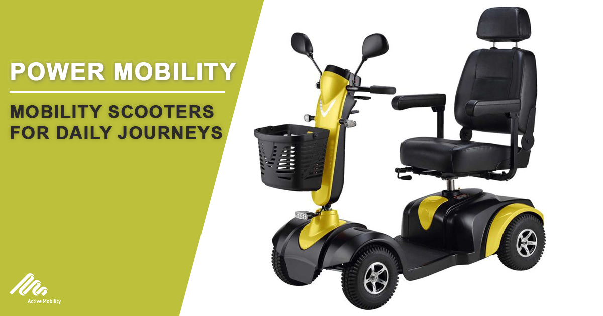 Mobility Scooters For Daily Journeys-1