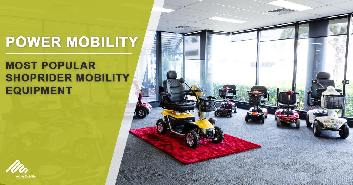 Most Popular Shoprider Mobility Equipment