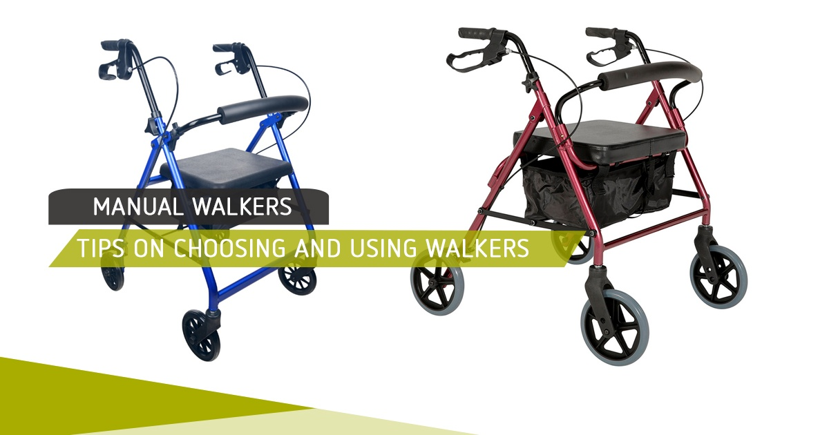 Tips on Choosing and Using Walkers