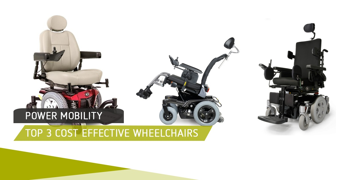Top 3 Cost Effective Wheelchairs